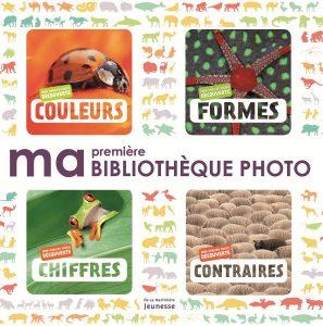 Ma première bibliothèque photo, De la Martinière jeunesse, 13,90 €. Dès dix mois.